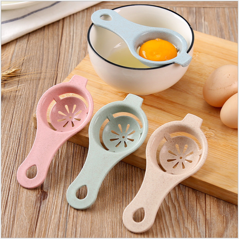 Plastic Egg Separator White Yolk Sifting Home Kitchen Room Chef Dining Hot X3L9